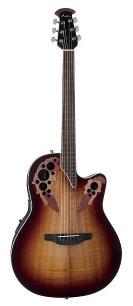 VGS Akustisk Gitar RT S E Root Cutaway med MikrofonPreamp, Sort